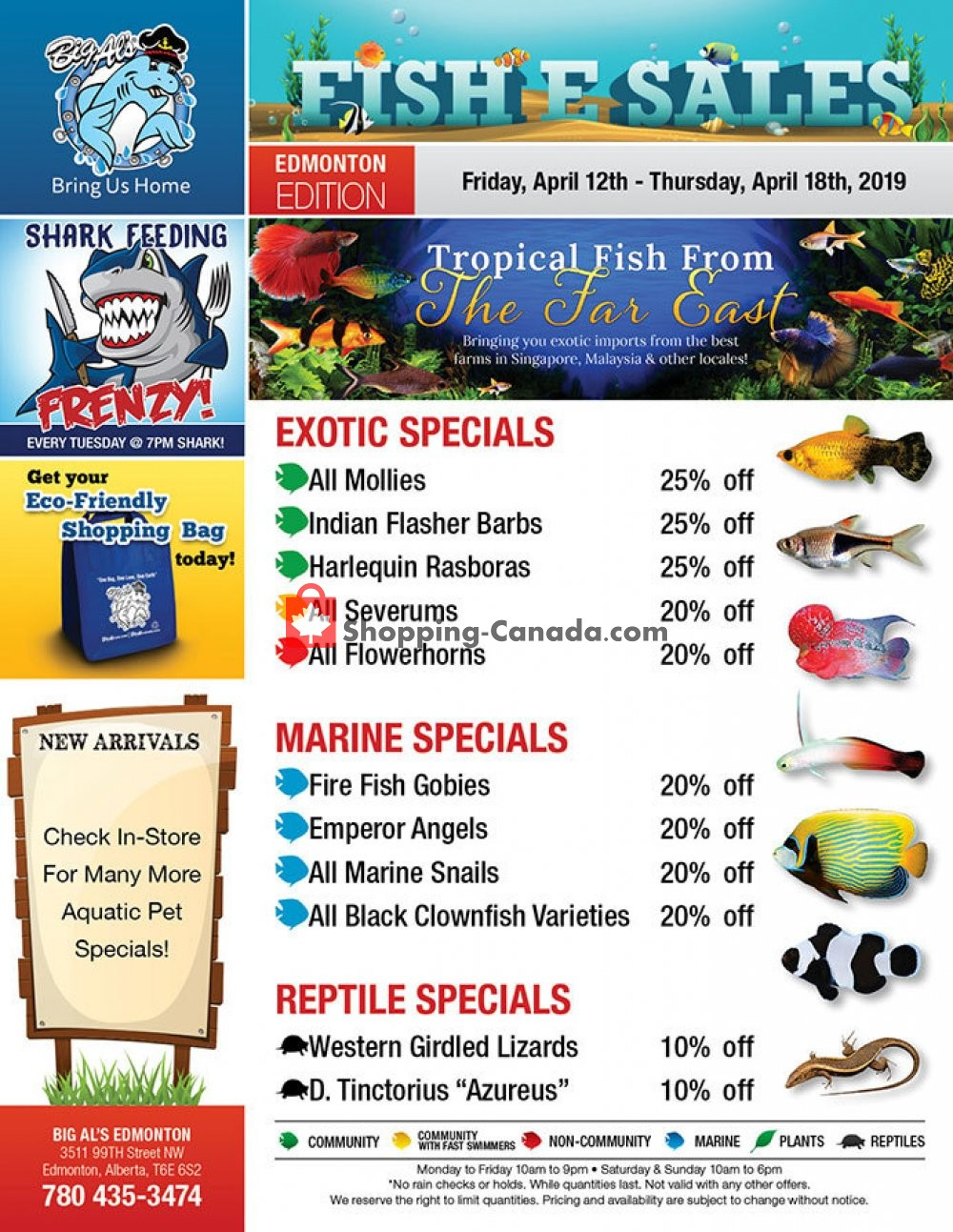 Flyer Big Al's Canada - from Friday April 12, 2019 to Thursday April 18, 2019