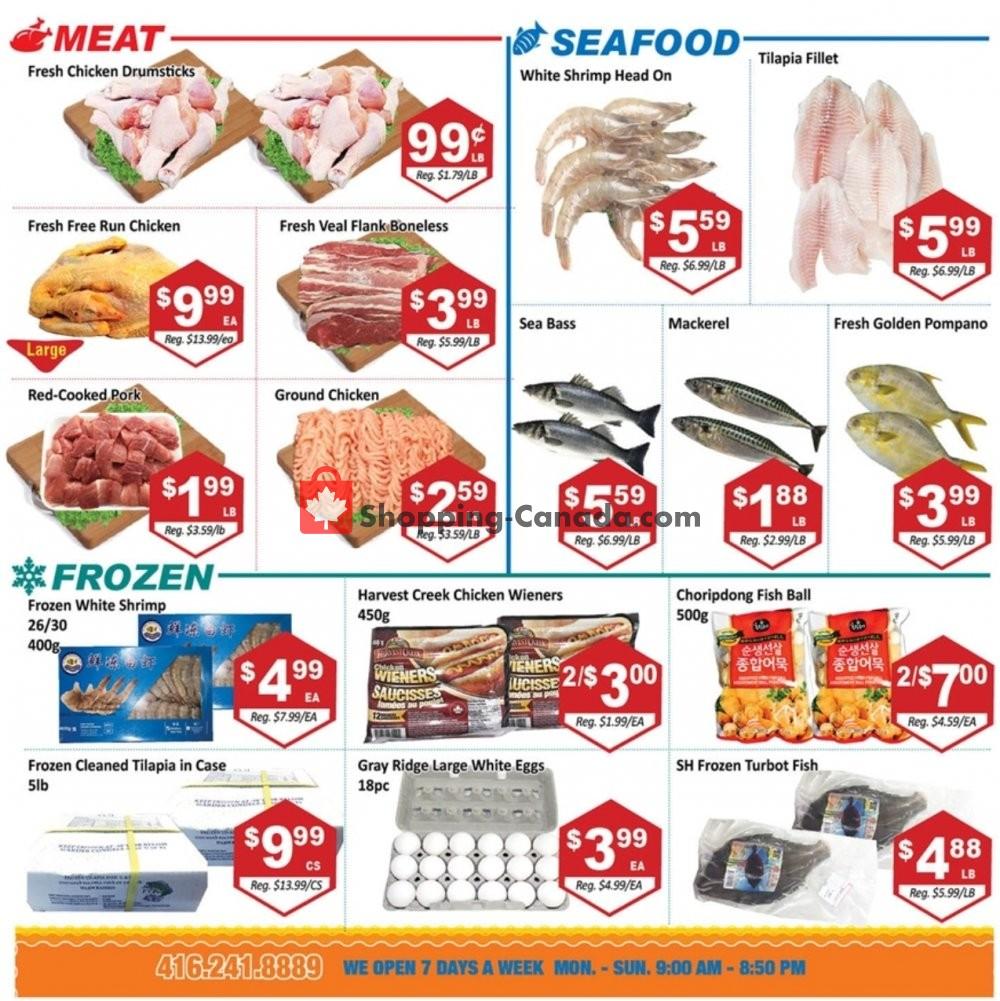Flyer Blue Sky Supermarket Canada - from Friday September 6, 2019 to Thursday September 12, 2019