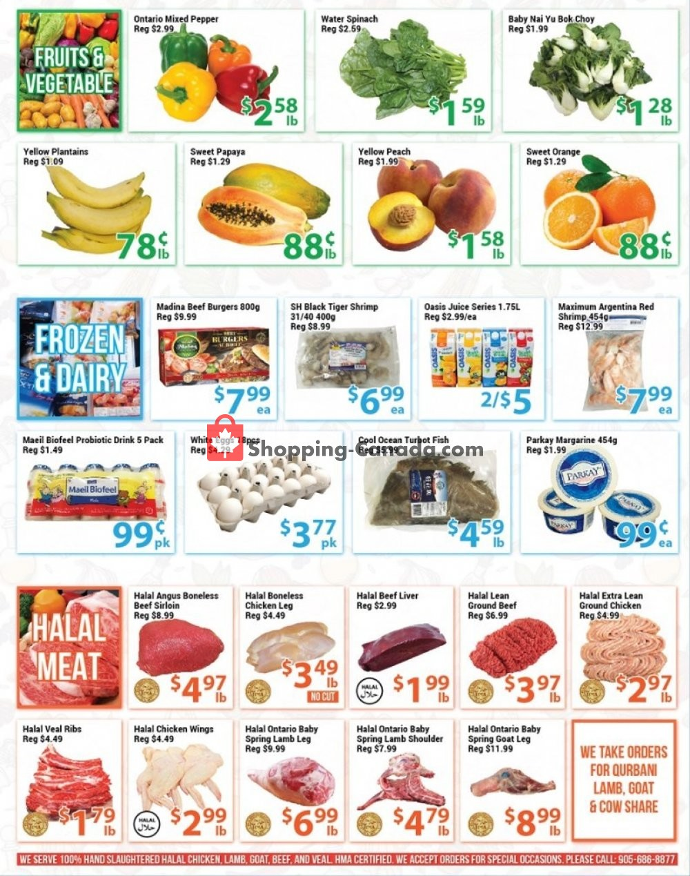 Flyer Blue Sky Supermarket Canada - from Friday July 12, 2019 to Thursday July 18, 2019