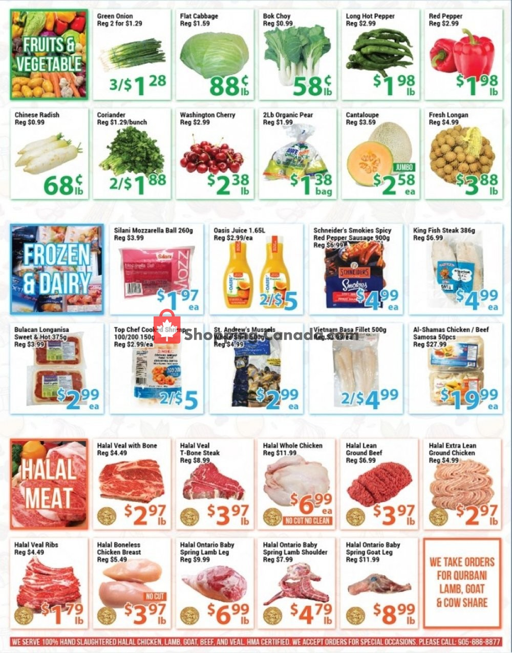 Flyer Blue Sky Supermarket Canada - from Friday July 19, 2019 to Thursday July 25, 2019