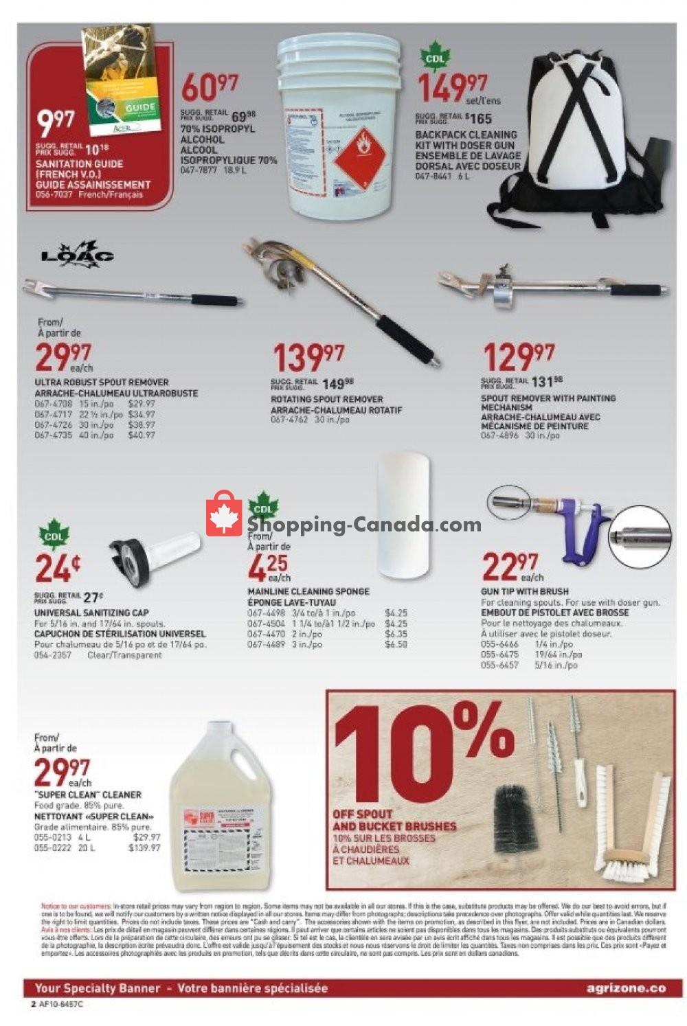Flyer BMR Canada - from Wednesday March 6, 2019 to Tuesday April 2, 2019
