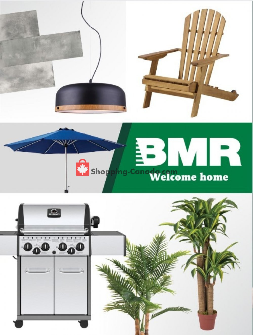 Flyer BMR Canada - from Wednesday April 17, 2019 to Tuesday May 14, 2019