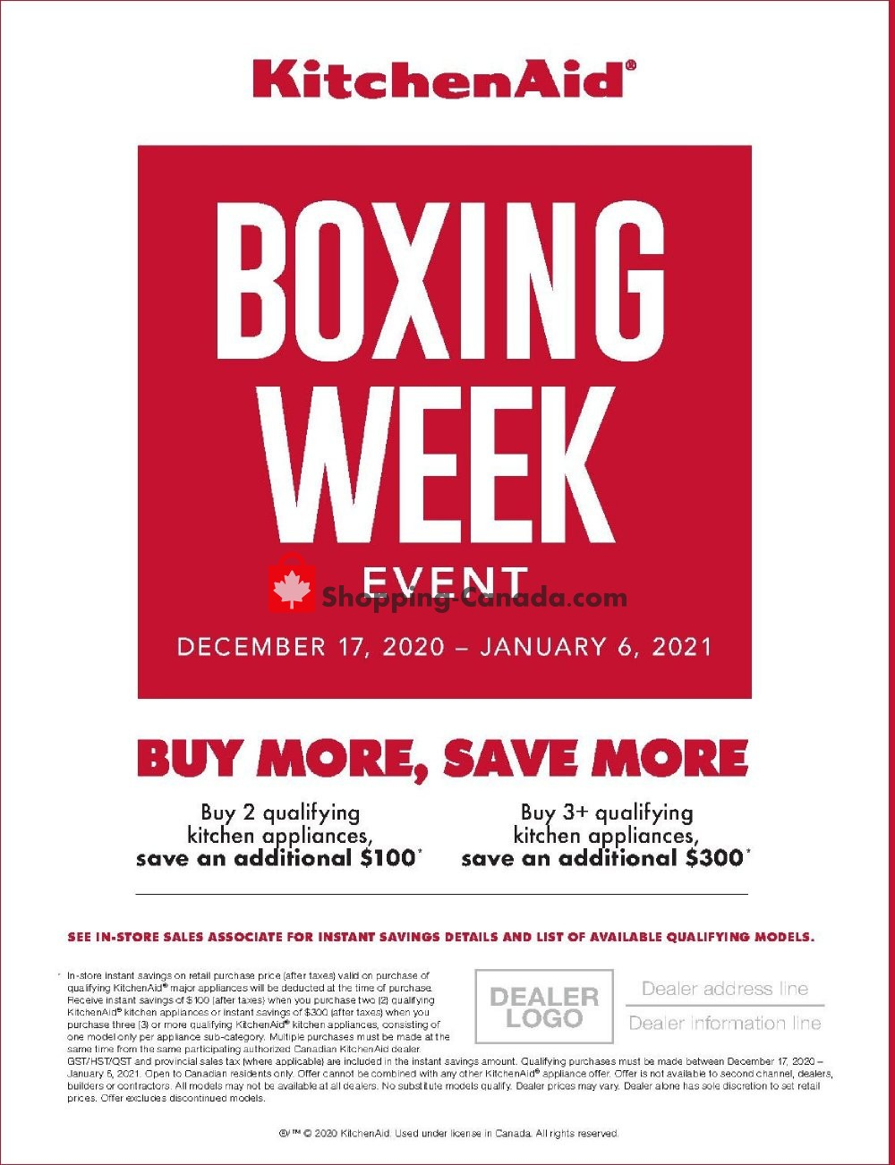 Flyer Bonanza Furniture Canada - from Thursday December 17, 2020 to Wednesday January 6, 2021
