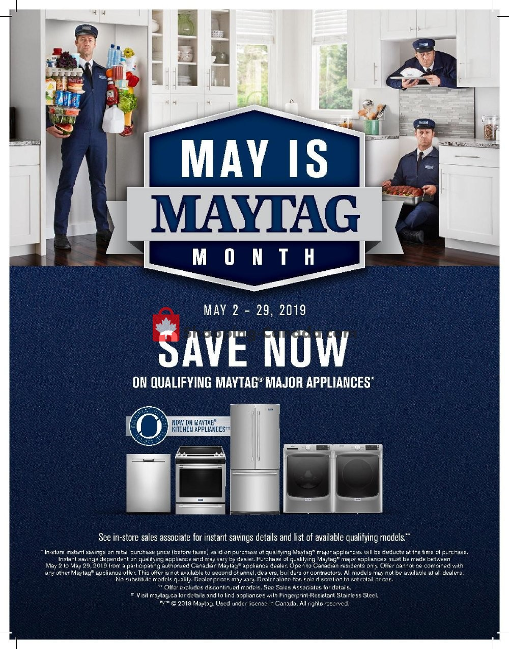 Flyer Bonanza Furniture Canada - from Thursday May 2, 2019 to Wednesday May 29, 2019