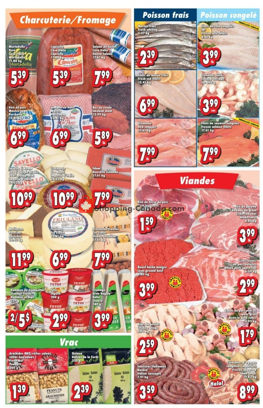 Flyer Bonanza Canada - from Wednesday July 24, 2019 to Tuesday July 30, 2019