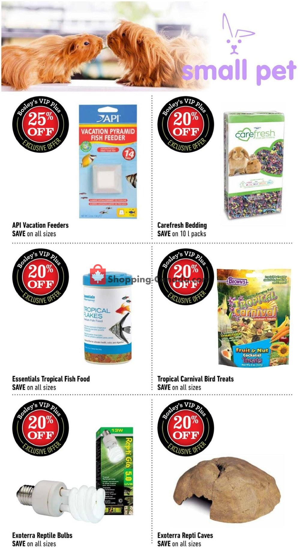 Flyer Bosley's Canada - from Monday August 12, 2019 to Wednesday September 4, 2019