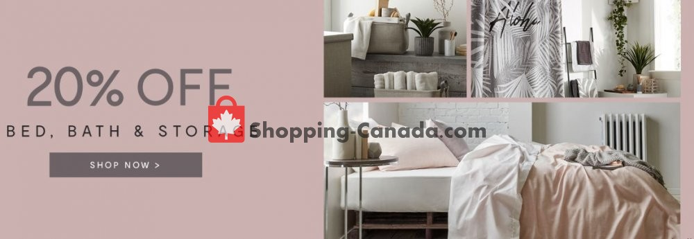 Flyer Bouclair Canada - from Tuesday April 16, 2019 to Monday April 22, 2019