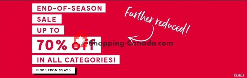 Flyer Bouclair Canada - from Thursday January 9, 2020 to Wednesday January 15, 2020