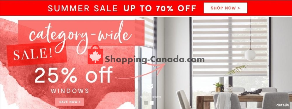 Flyer Bouclair Canada - from Wednesday July 10, 2019 to Tuesday July 16, 2019