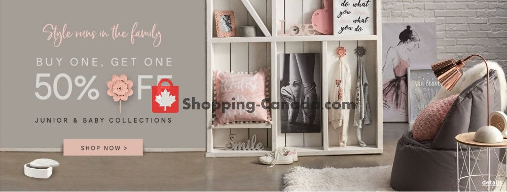 Flyer Bouclair Canada - from Wednesday March 6, 2019 to Tuesday March 12, 2019