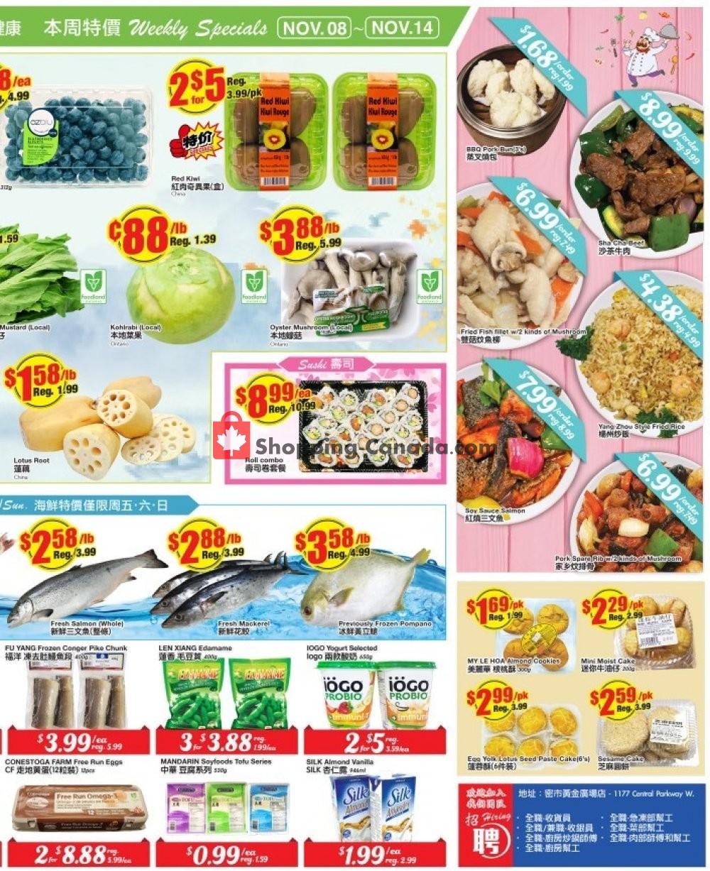 Flyer Btrust Supermarket Canada - from Friday November 8, 2019 to Thursday November 14, 2019