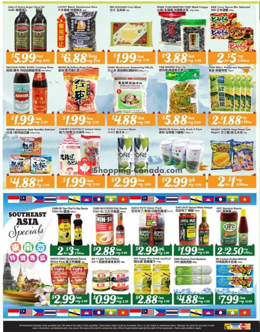 Flyer Btrust Supermarket Canada - from Friday October 4, 2019 to Thursday October 10, 2019