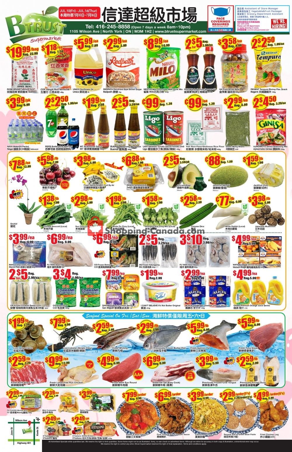 Flyer Btrust Supermarket Canada - from Friday July 10, 2020 to Thursday July 16, 2020