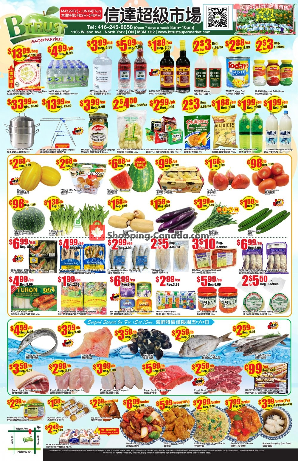 Flyer Btrust Supermarket Canada - from Friday May 29, 2020 to Thursday June 4, 2020