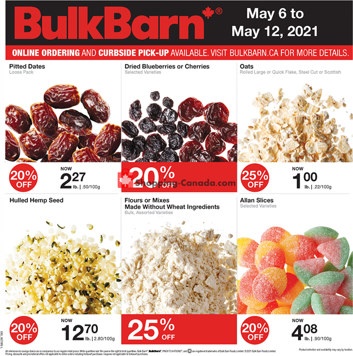 Flyer Bulk Barn Canada - from Thursday May 6, 2021 to Wednesday May 12, 2021
