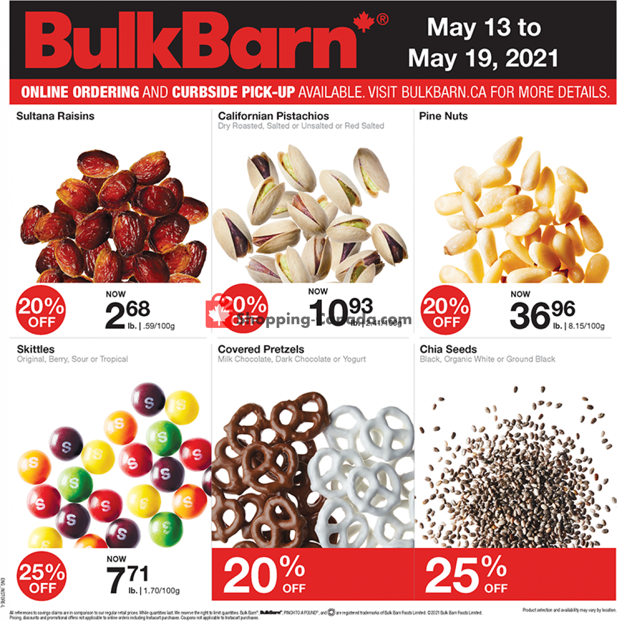 Flyer Bulk Barn Canada - from Thursday May 13, 2021 to Wednesday May 19, 2021