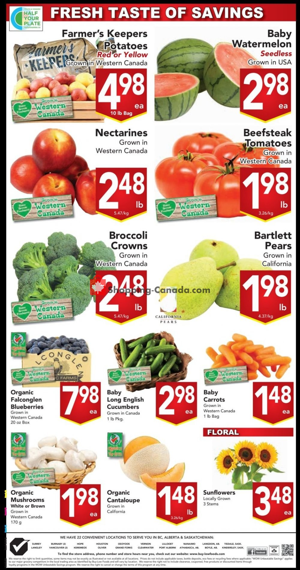 Flyer Buy-Low Foods Canada - from Sunday August 11, 2019 to Saturday August 17, 2019