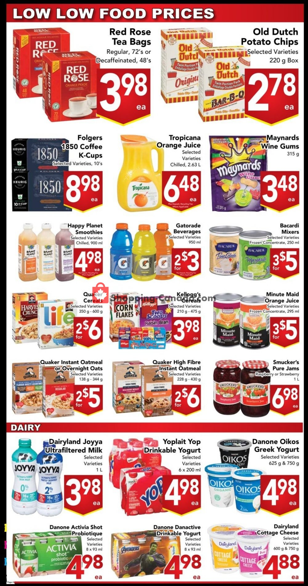 Flyer Buy-Low Foods Canada - from Sunday January 12, 2020 to Saturday January 18, 2020