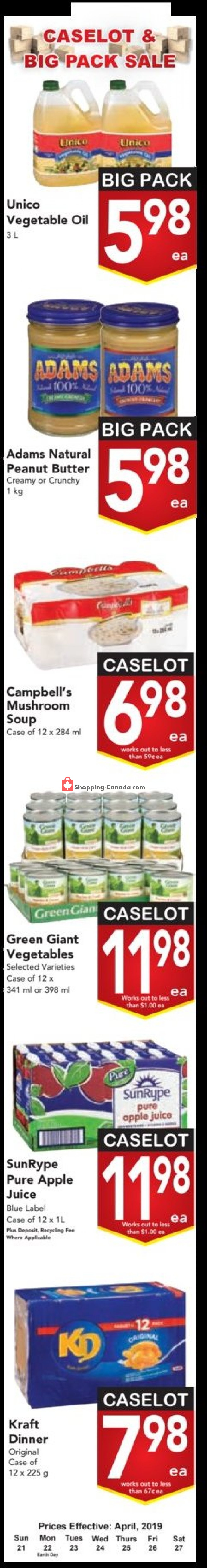 Flyer Buy-Low Foods Canada - from Sunday April 21, 2019 to Saturday April 27, 2019