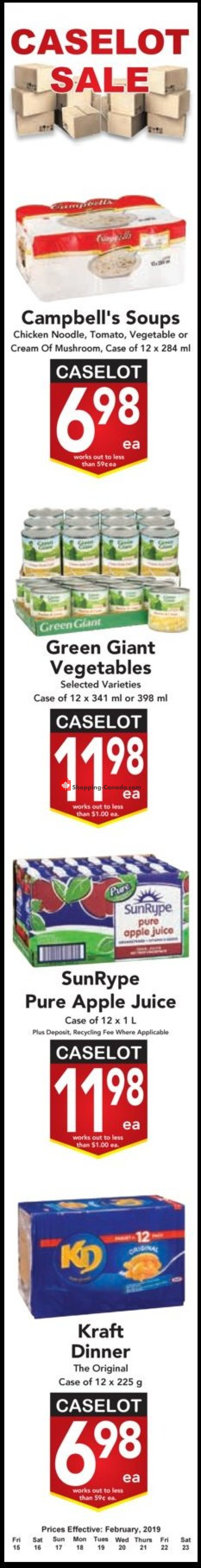 Flyer Buy-Low Foods Canada - from Friday February 15, 2019 to Saturday February 23, 2019