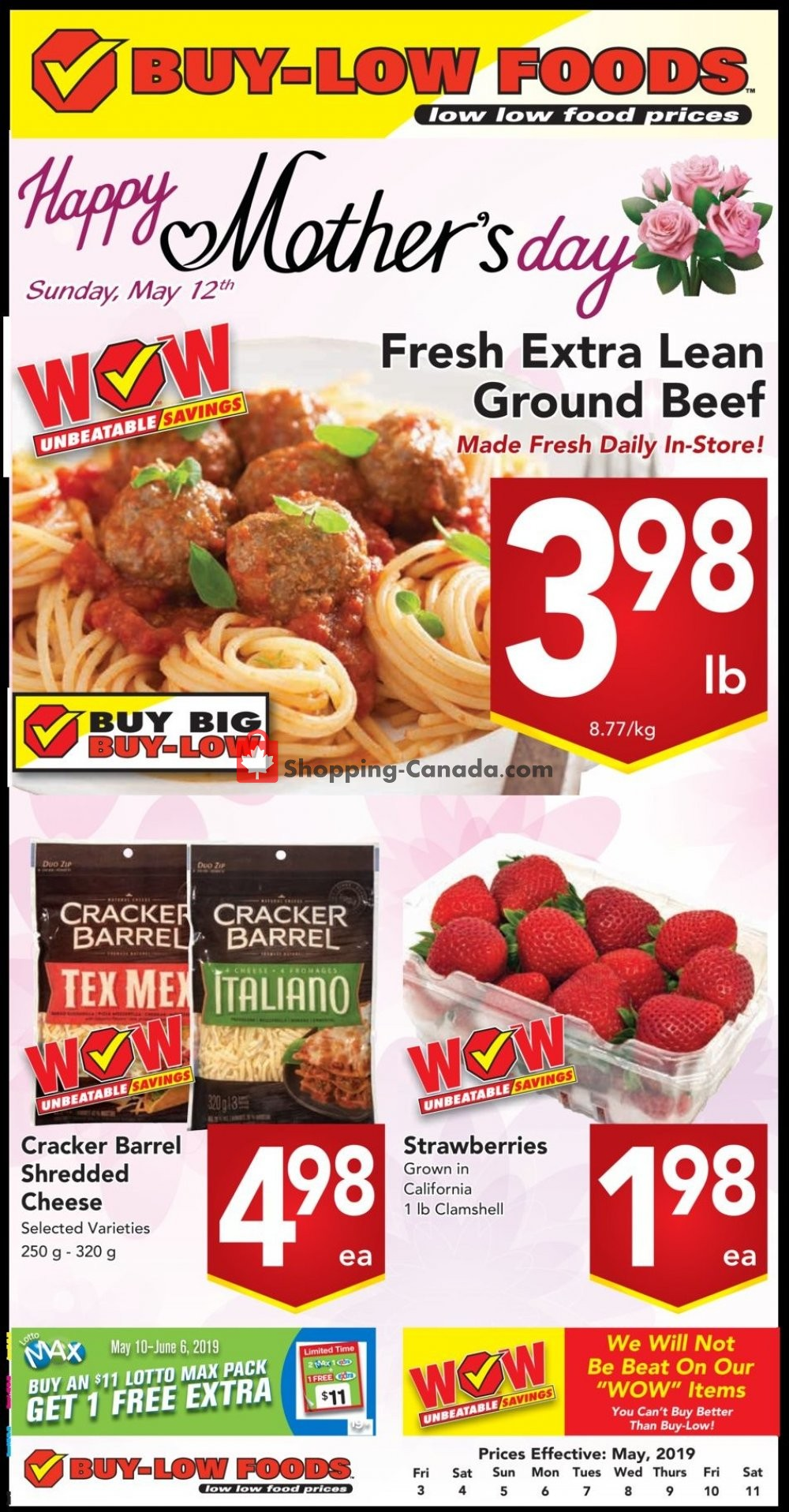 Flyer Buy-Low Foods Canada - from Friday May 3, 2019 to Saturday May 11, 2019