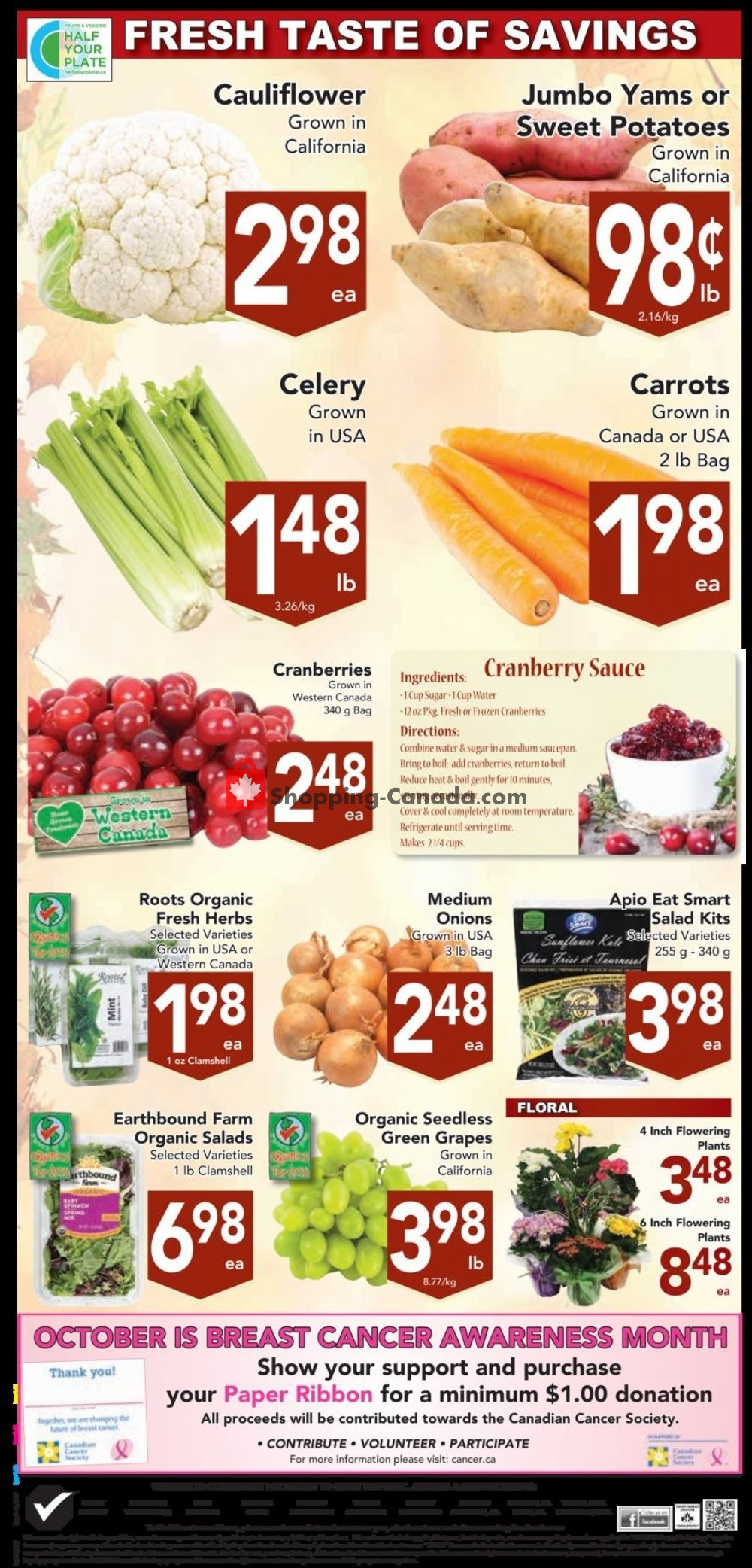 Flyer Buy-Low Foods Canada - from Sunday October 6, 2019 to Saturday October 12, 2019