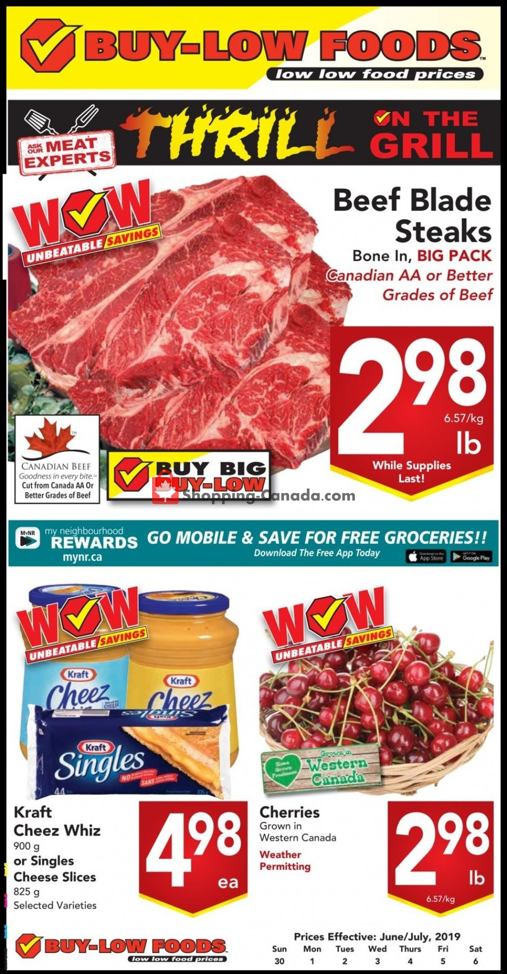 Flyer Buy-Low Foods Canada - from Sunday June 30, 2019 to Saturday July 6, 2019