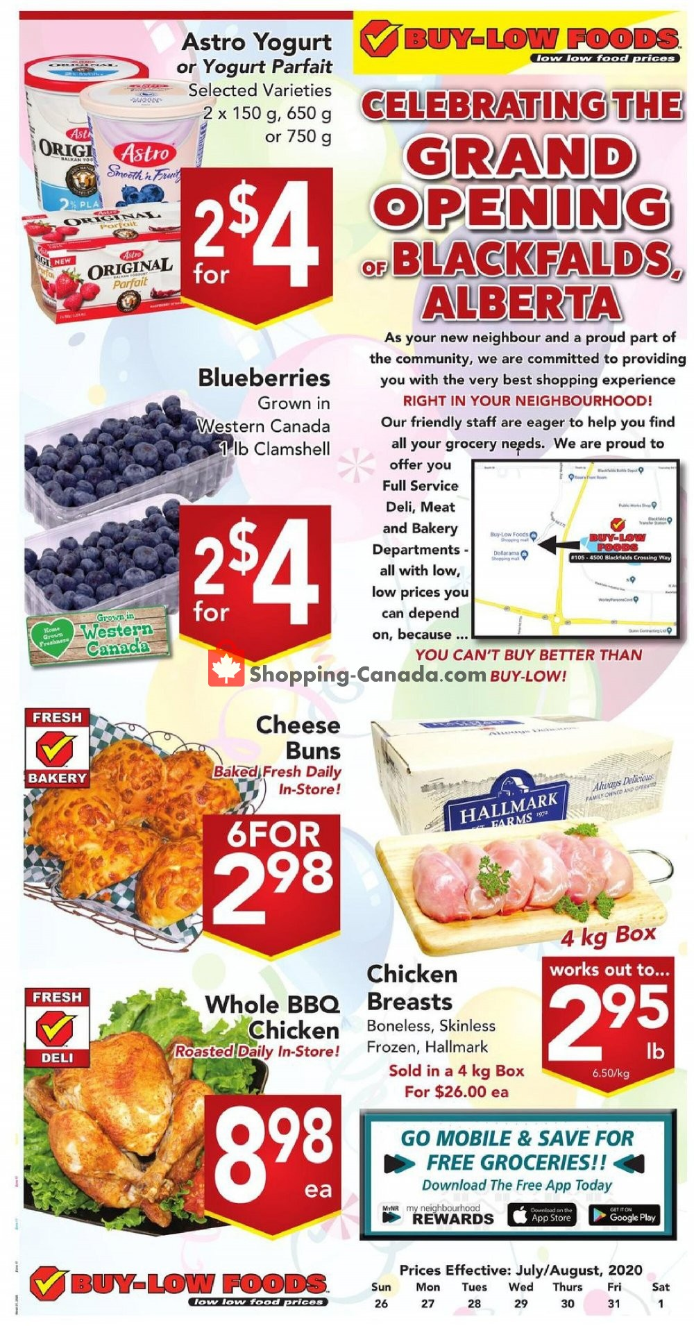 Flyer Buy-Low Foods Canada - from Sunday July 26, 2020 to Saturday August 1, 2020