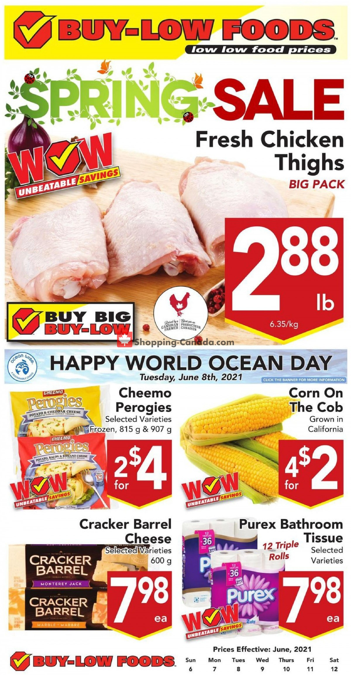 Flyer Buy-Low Foods Canada - from Sunday June 6, 2021 to Saturday June 12, 2021