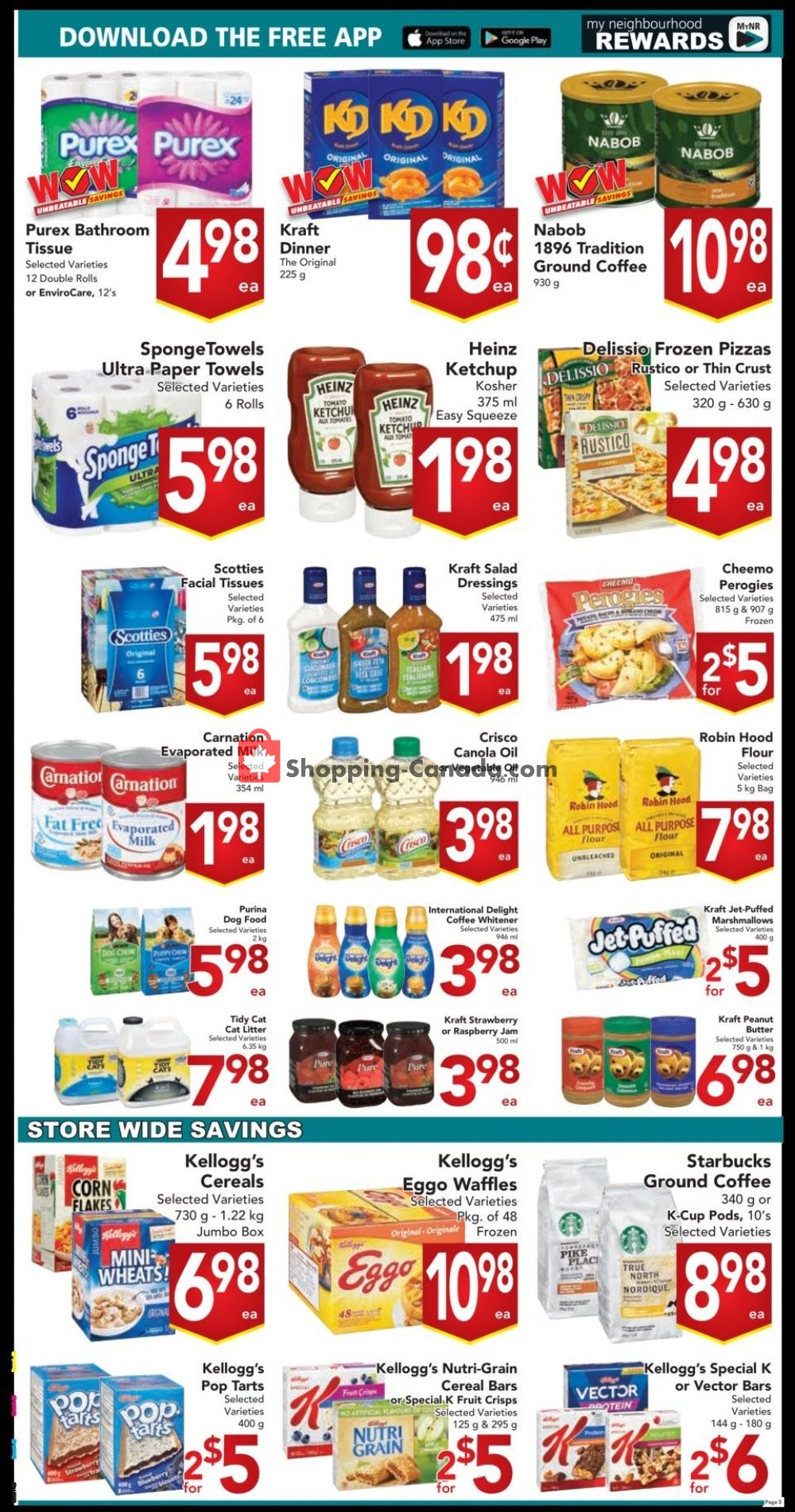 Flyer Buy-Low Foods Canada - from Sunday July 21, 2019 to Saturday July 27, 2019
