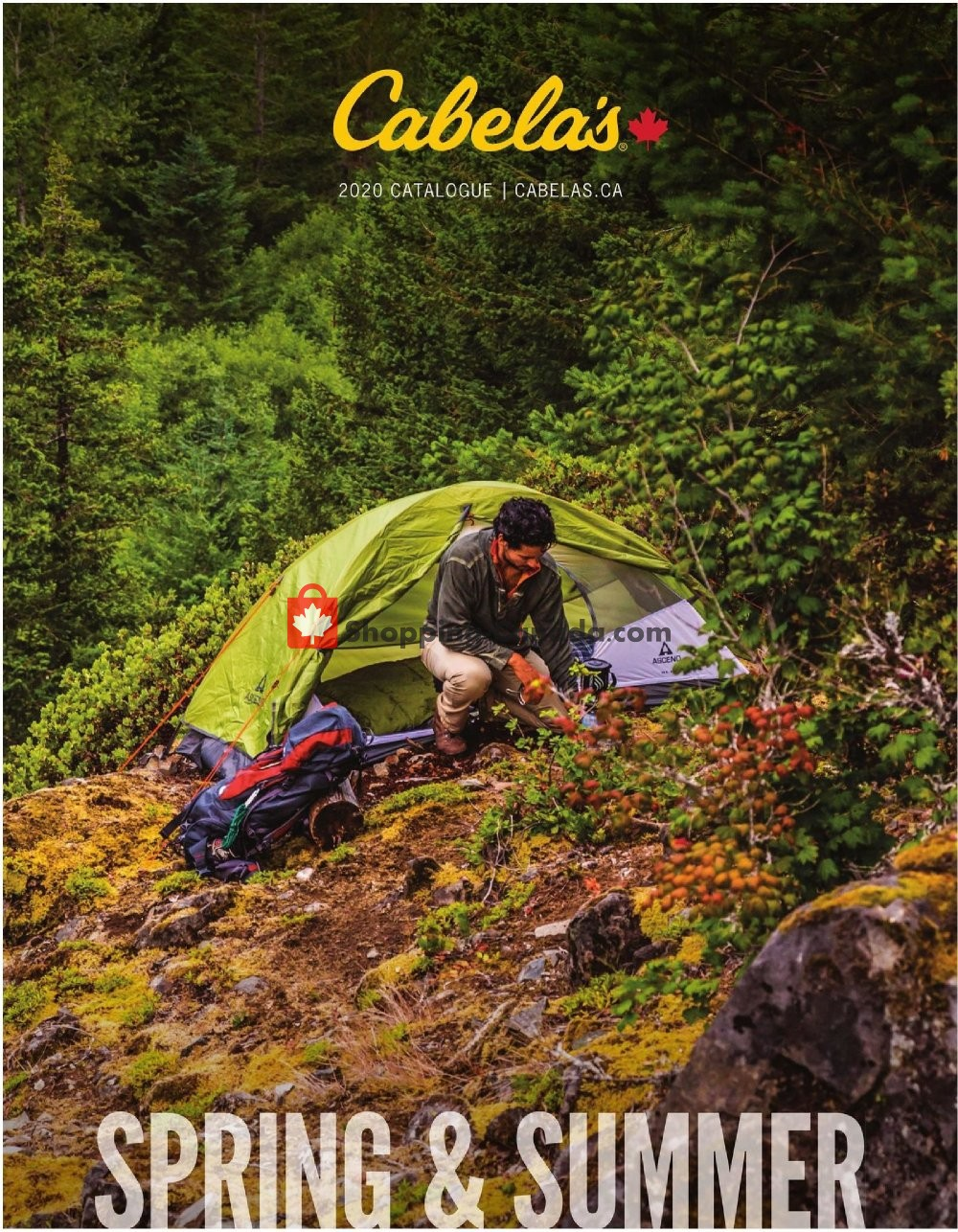 Flyer Cabela's Canada - from Wednesday April 15, 2020 to Saturday May 16, 2020