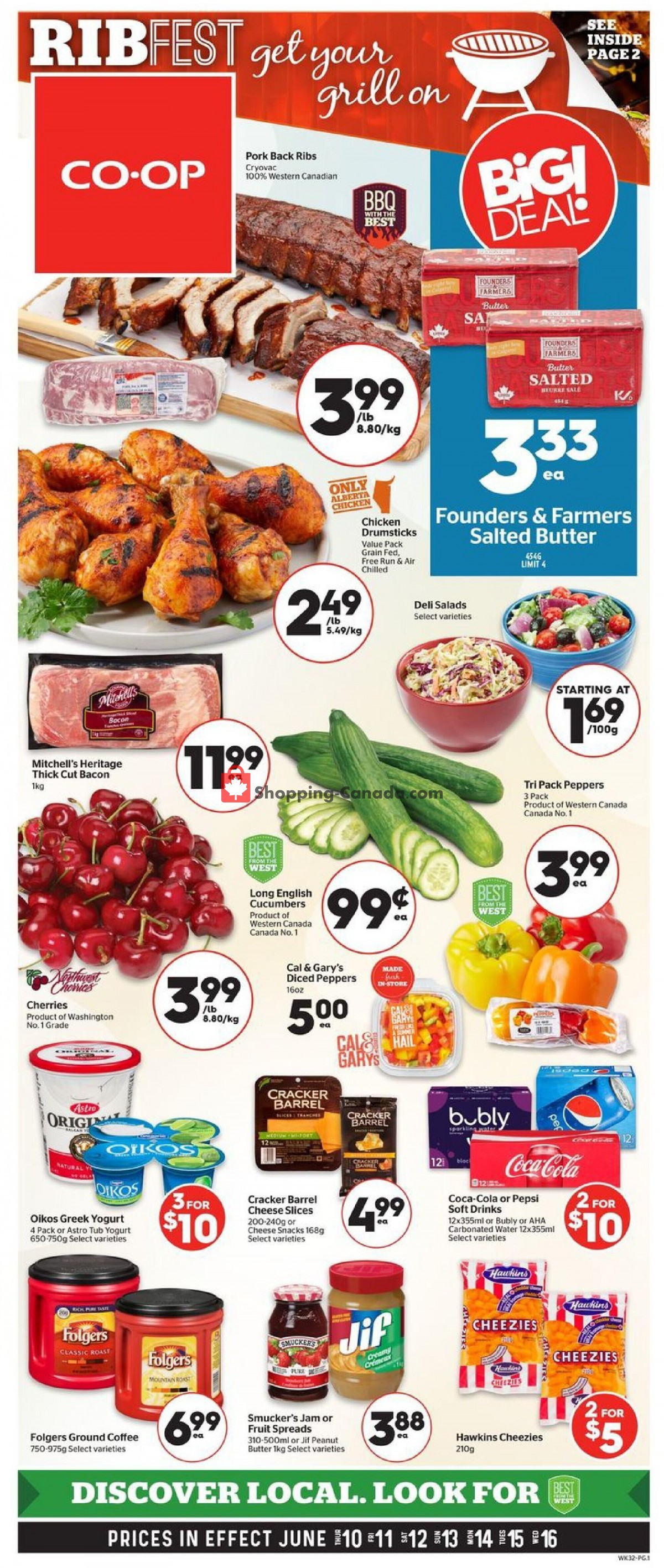 Flyer Calgary Co-op Canada - from Thursday June 10, 2021 to Wednesday June 16, 2021