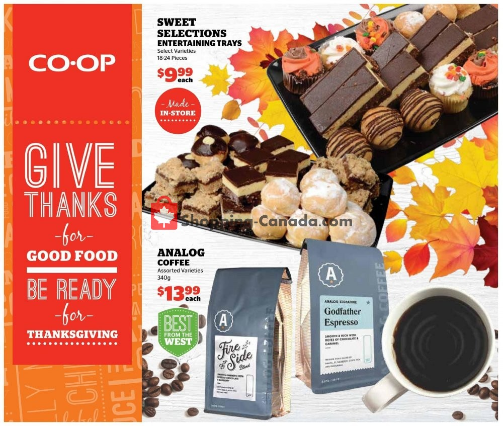 Flyer Calgary Co-op Canada - from Thursday October 3, 2019 to Wednesday October 9, 2019