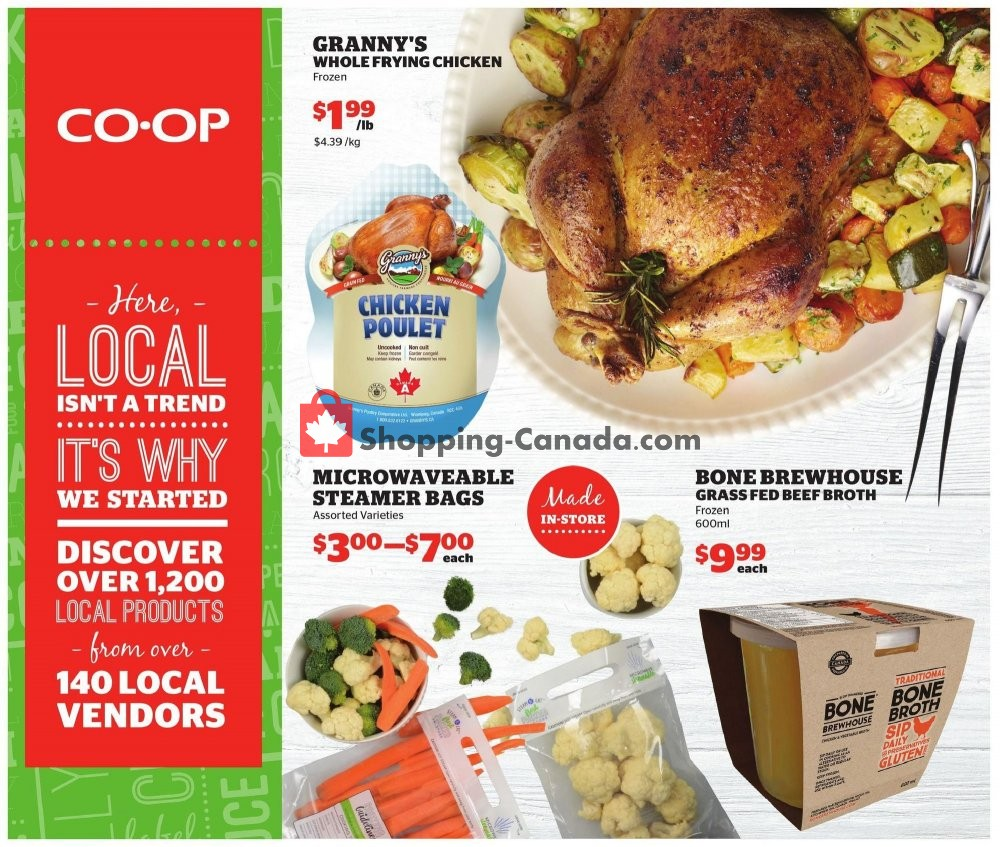 Flyer Calgary Co-op Canada - from Thursday January 16, 2020 to Wednesday January 22, 2020