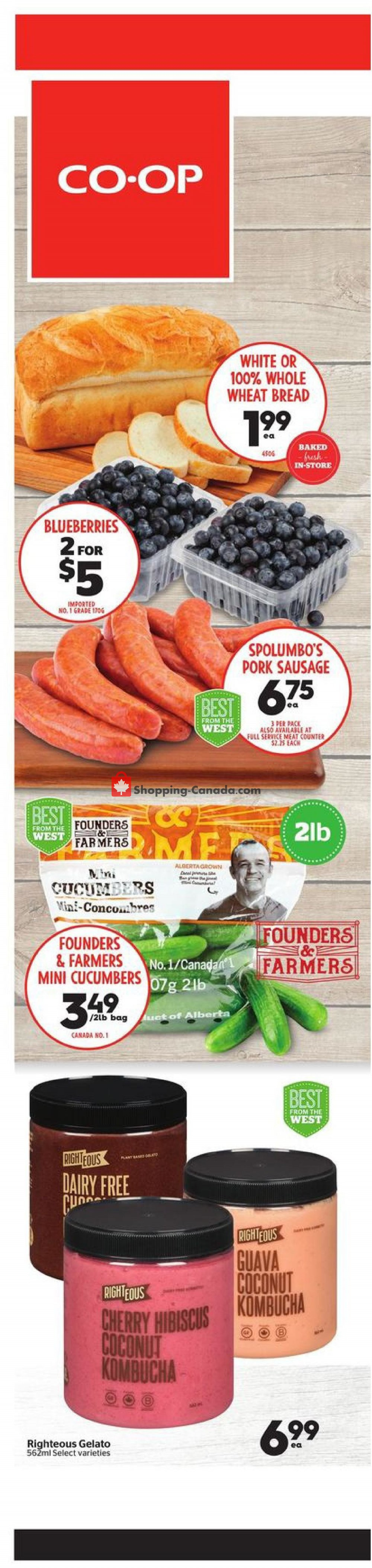 Flyer Calgary Co-op Canada - from Thursday May 28, 2020 to Wednesday June 3, 2020