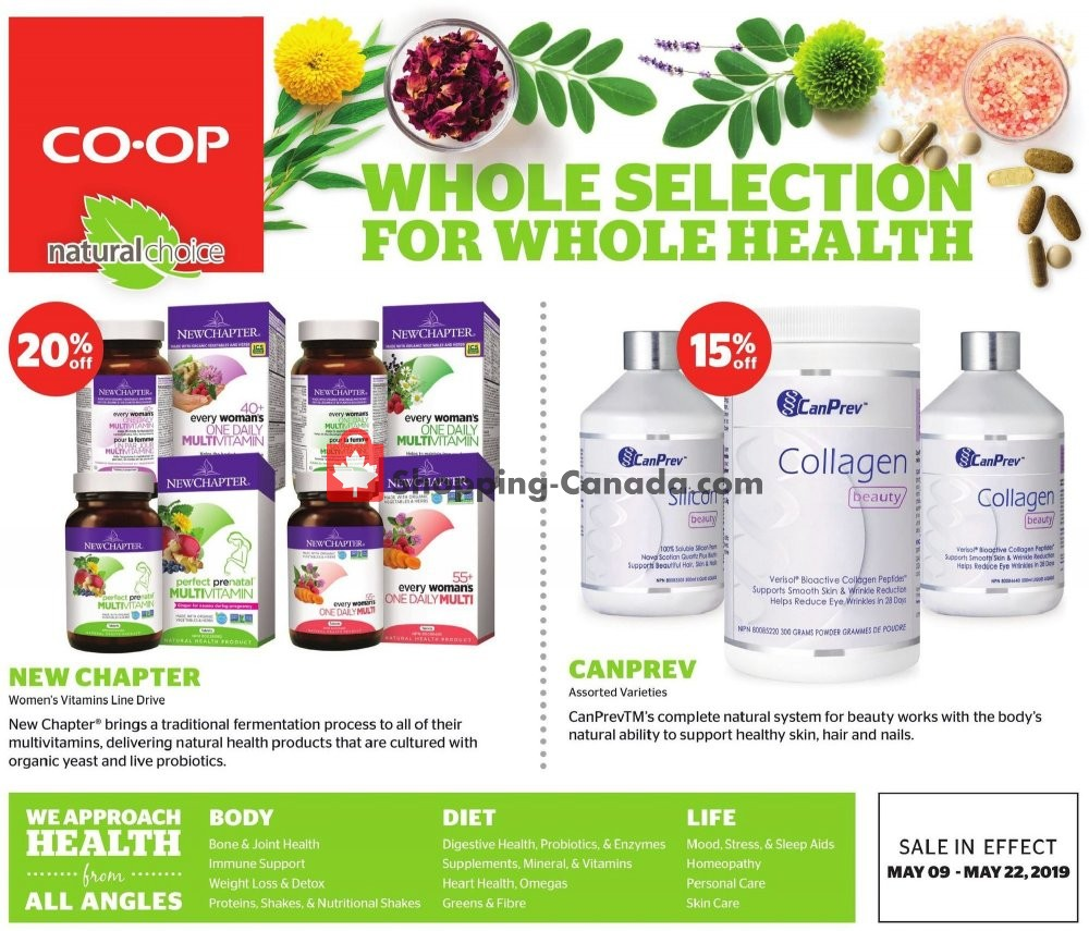 Flyer Calgary Co-op Canada - from Thursday May 9, 2019 to Wednesday May 22, 2019