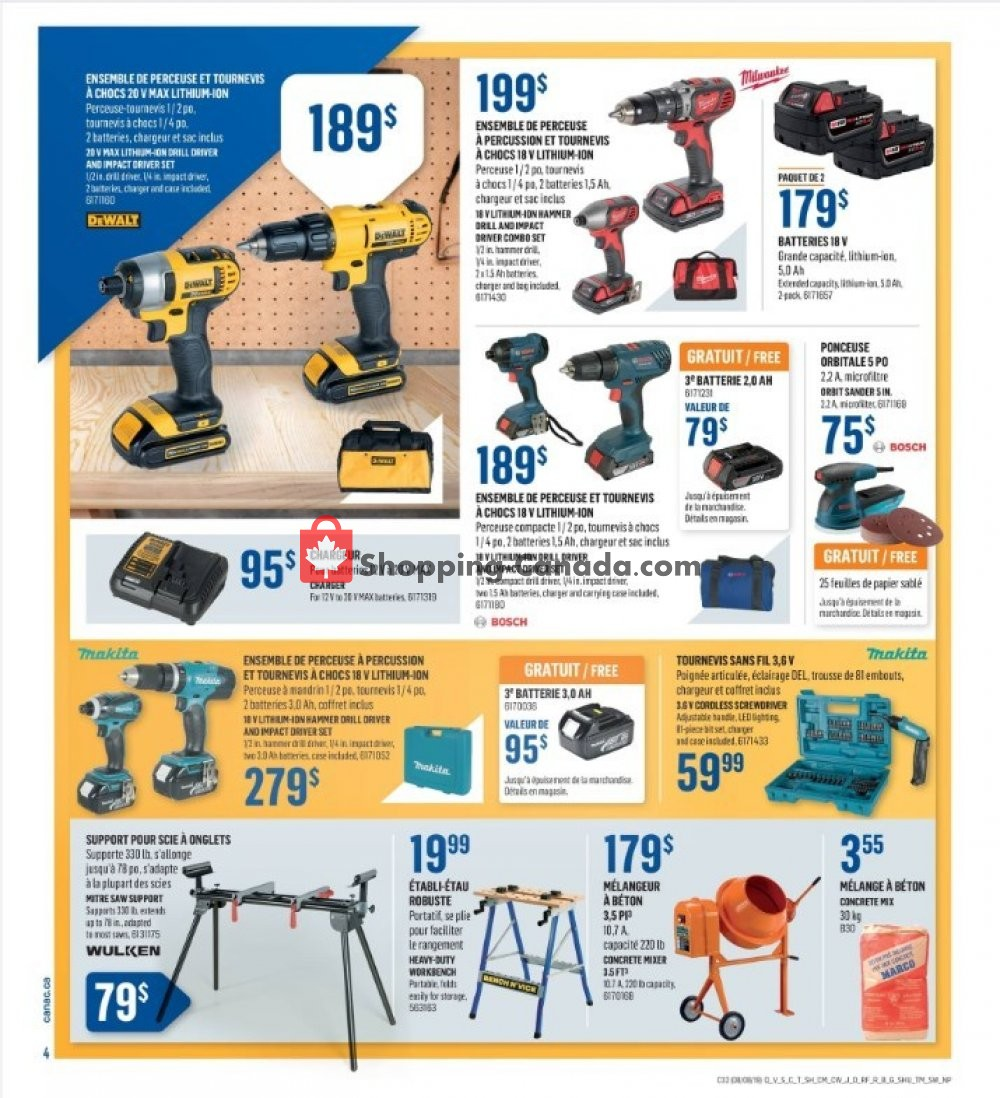 Flyer Canac Canada - from Thursday August 8, 2019 to Wednesday August 14, 2019
