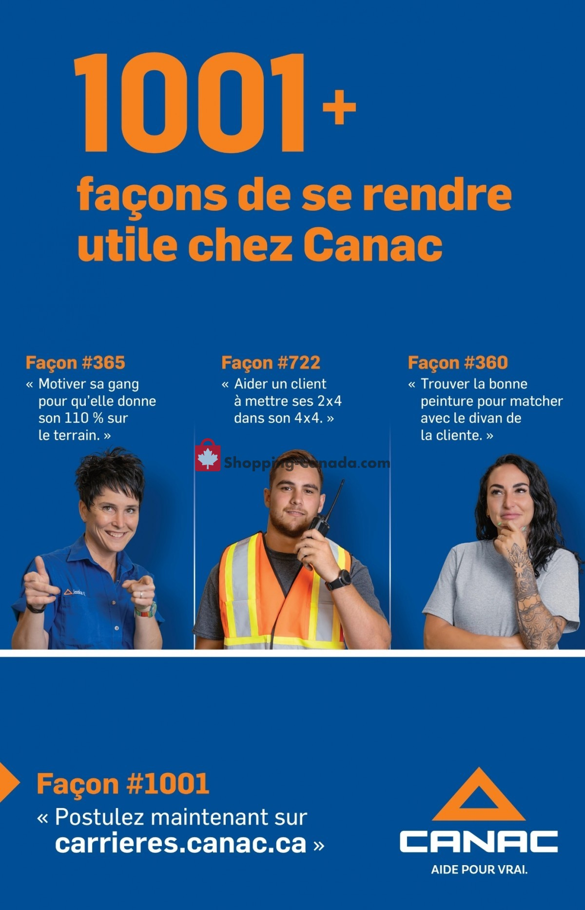 Flyer Canac Canada - from Thursday October 7, 2021 to Wednesday October 20, 2021