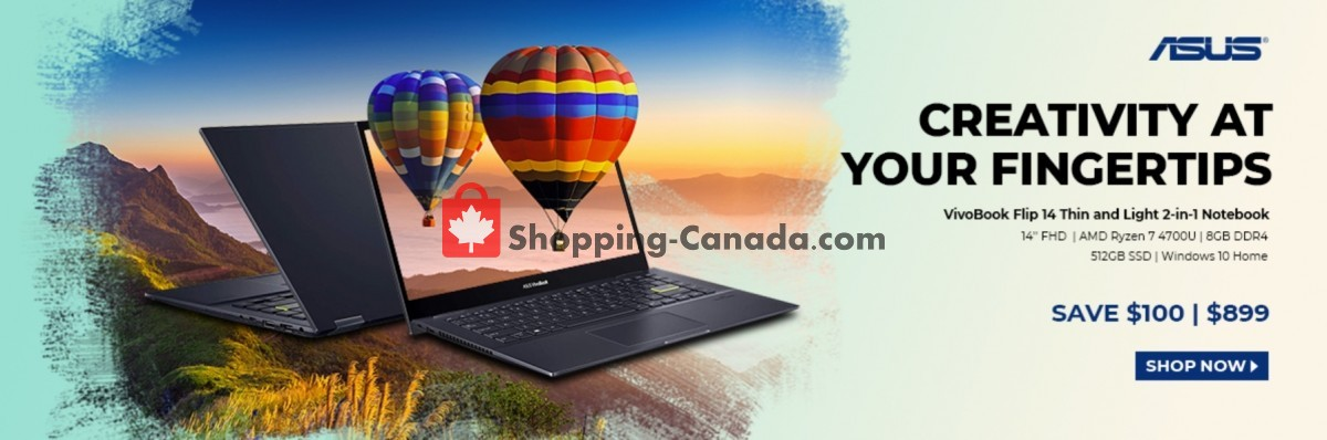 Flyer Canada Computers Canada - from Friday April 9, 2021 to Thursday April 15, 2021