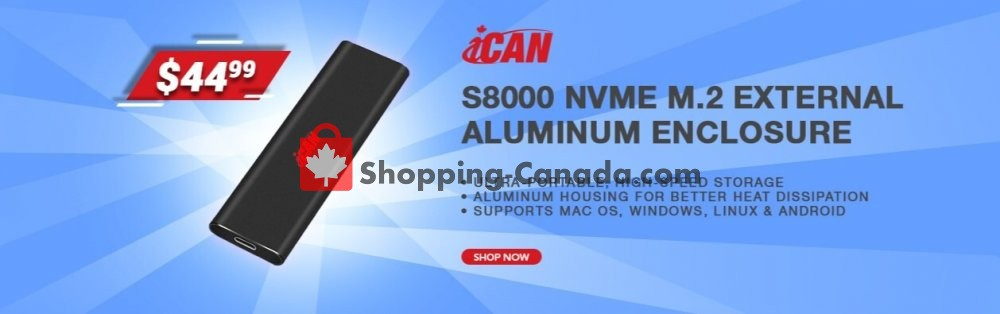 Flyer Canada Computers Canada - from Friday July 3, 2020 to Thursday July 9, 2020