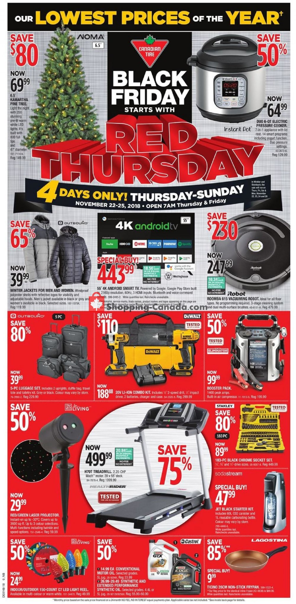 Flyer and weekly ads: Canadian Tire Canada - (Black Friday