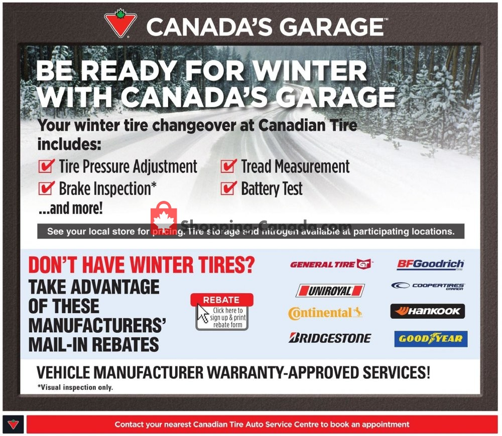 Flyer And Weekly Ads Canadian Tire Canada Canadas Christmas