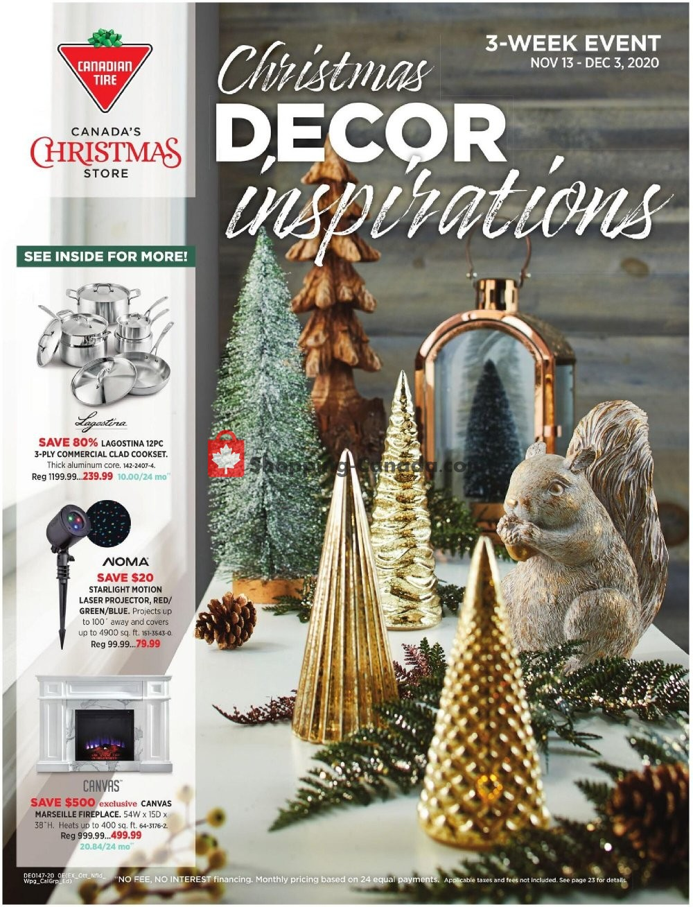 Flyer Canadian Tire Canada - from Friday November 13, 2020 to Thursday December 3, 2020
