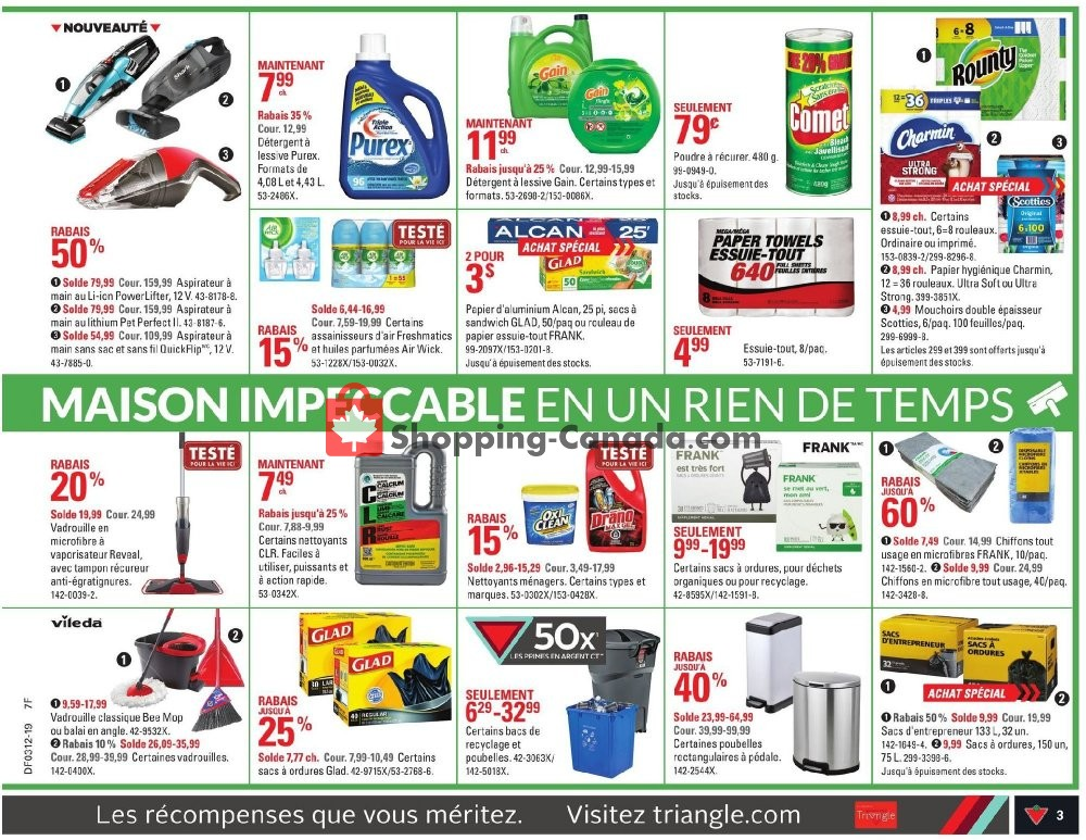 Flyer Canadian Tire Canada - from Thursday March 14, 2019 to Wednesday March 20, 2019