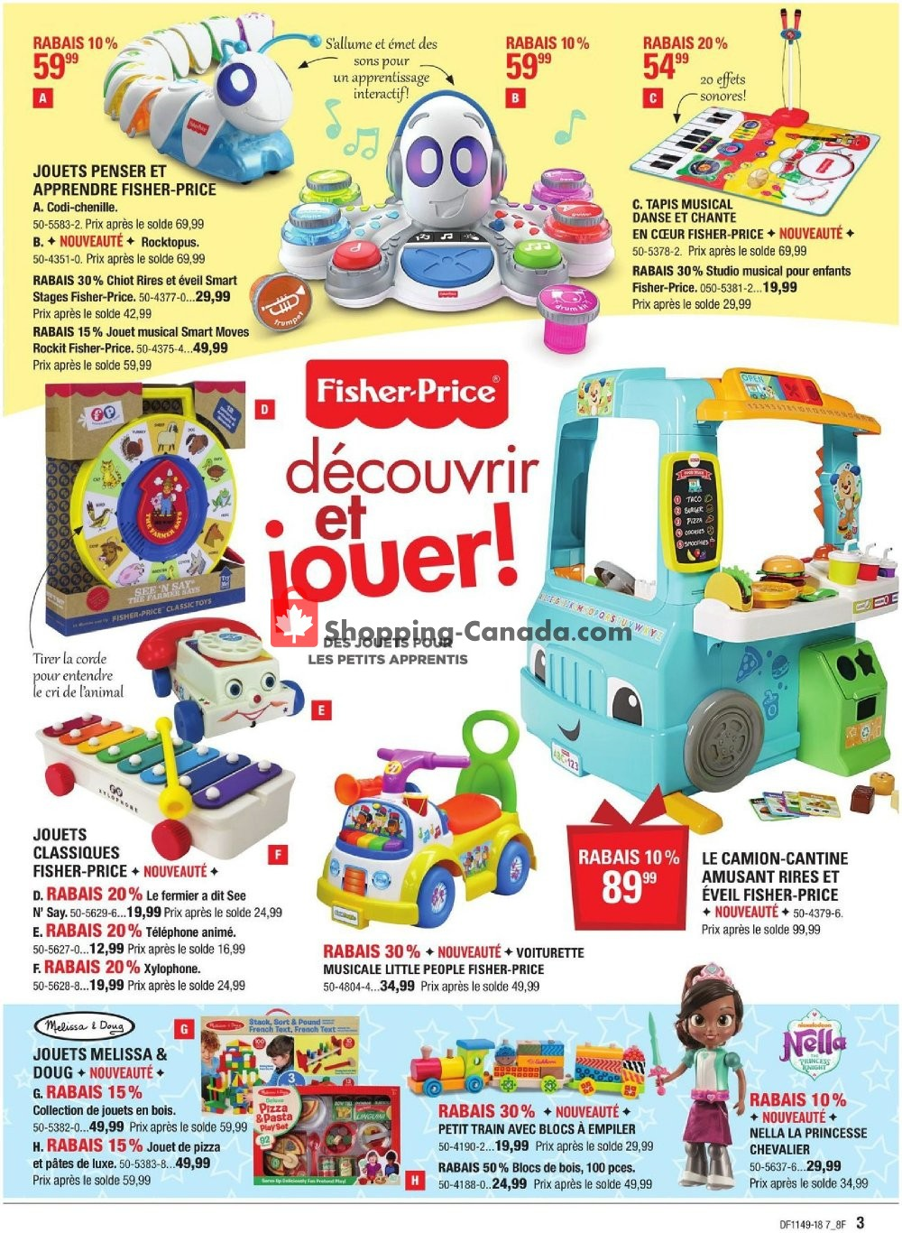 Flyer Canadian Tire Canada - from Friday November 30, 2018 to Thursday December 20, 2018