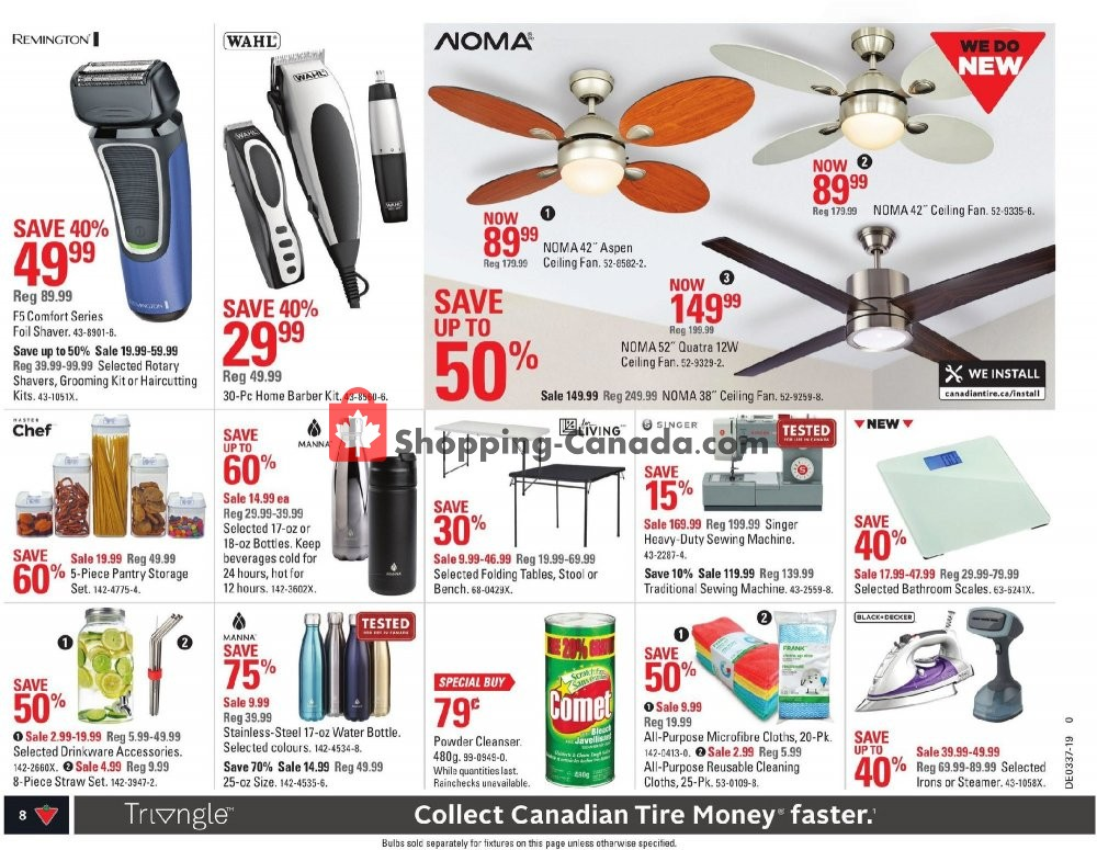 Flyer Canadian Tire Canada - from Friday September 6, 2019 to Thursday September 12, 2019