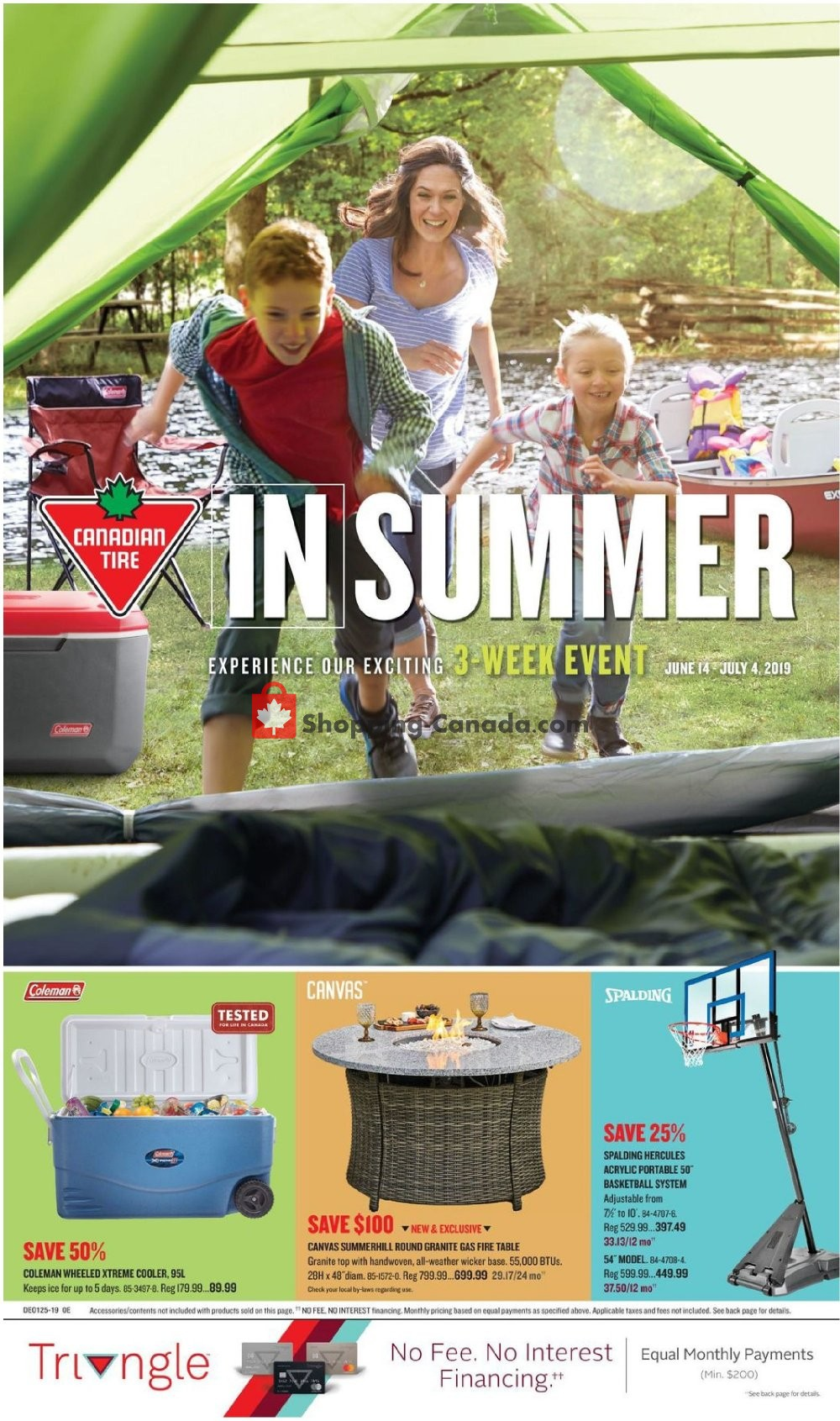 Flyer Canadian Tire Canada - from Friday June 14, 2019 to Thursday July 4, 2019