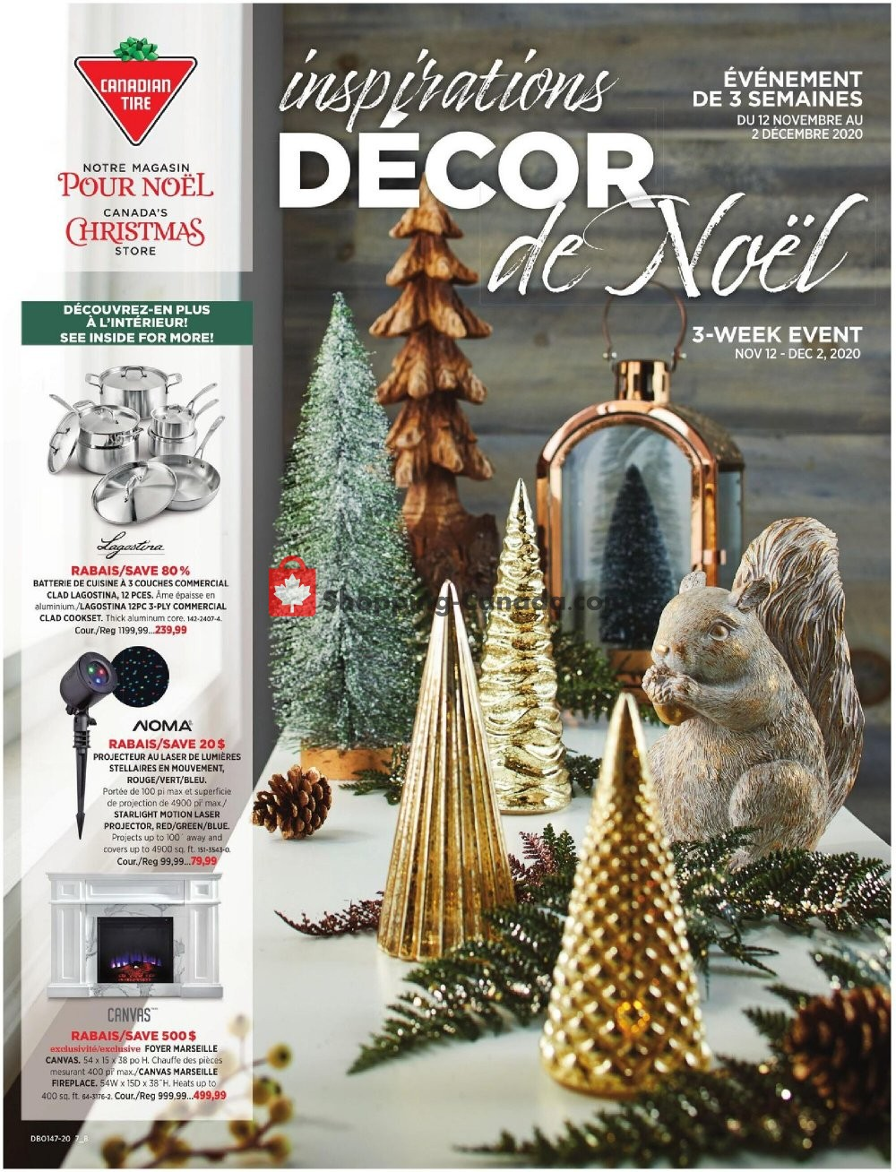 Flyer Canadian Tire Canada - from Thursday November 12, 2020 to Wednesday December 2, 2020