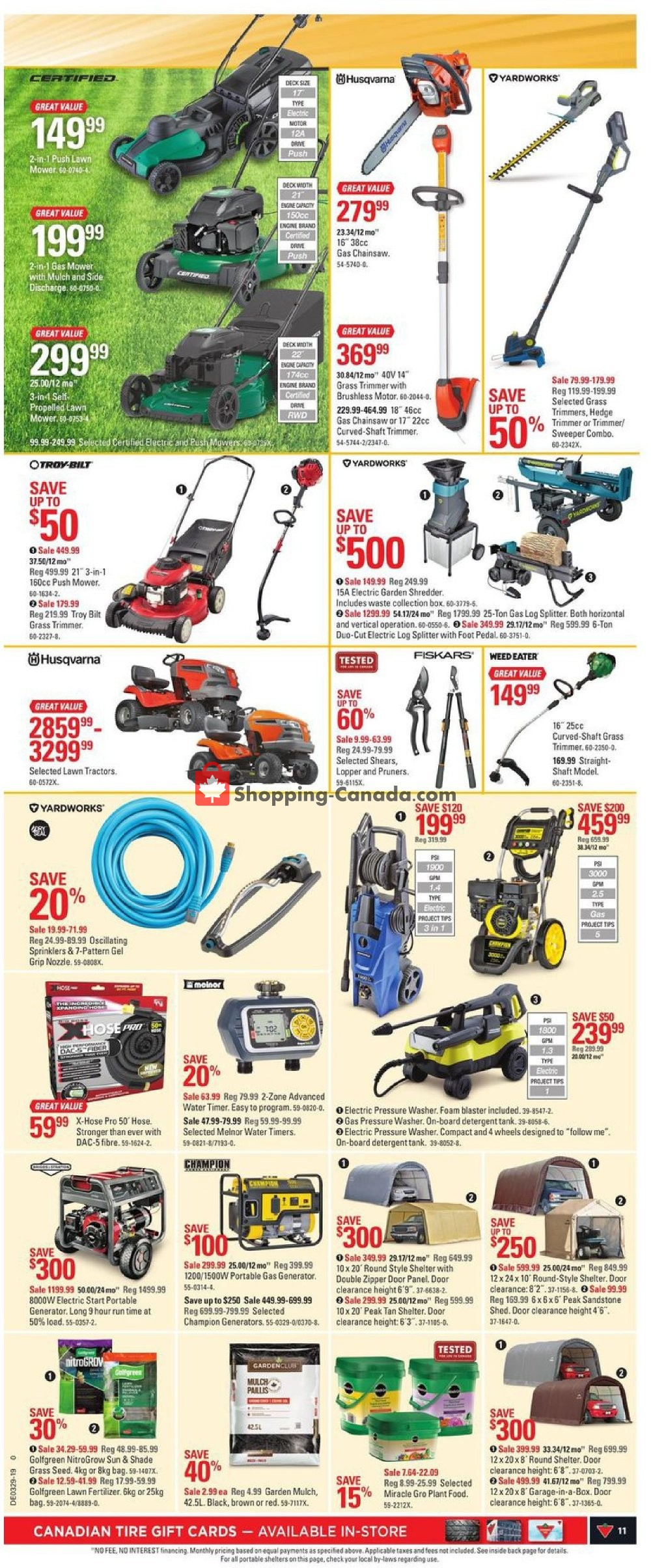 Flyer Canadian Tire Canada - from Friday July 12, 2019 to Thursday July 18, 2019