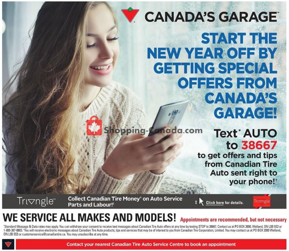 Flyer Canadian Tire Canada - from Thursday January 9, 2020 to Wednesday January 15, 2020